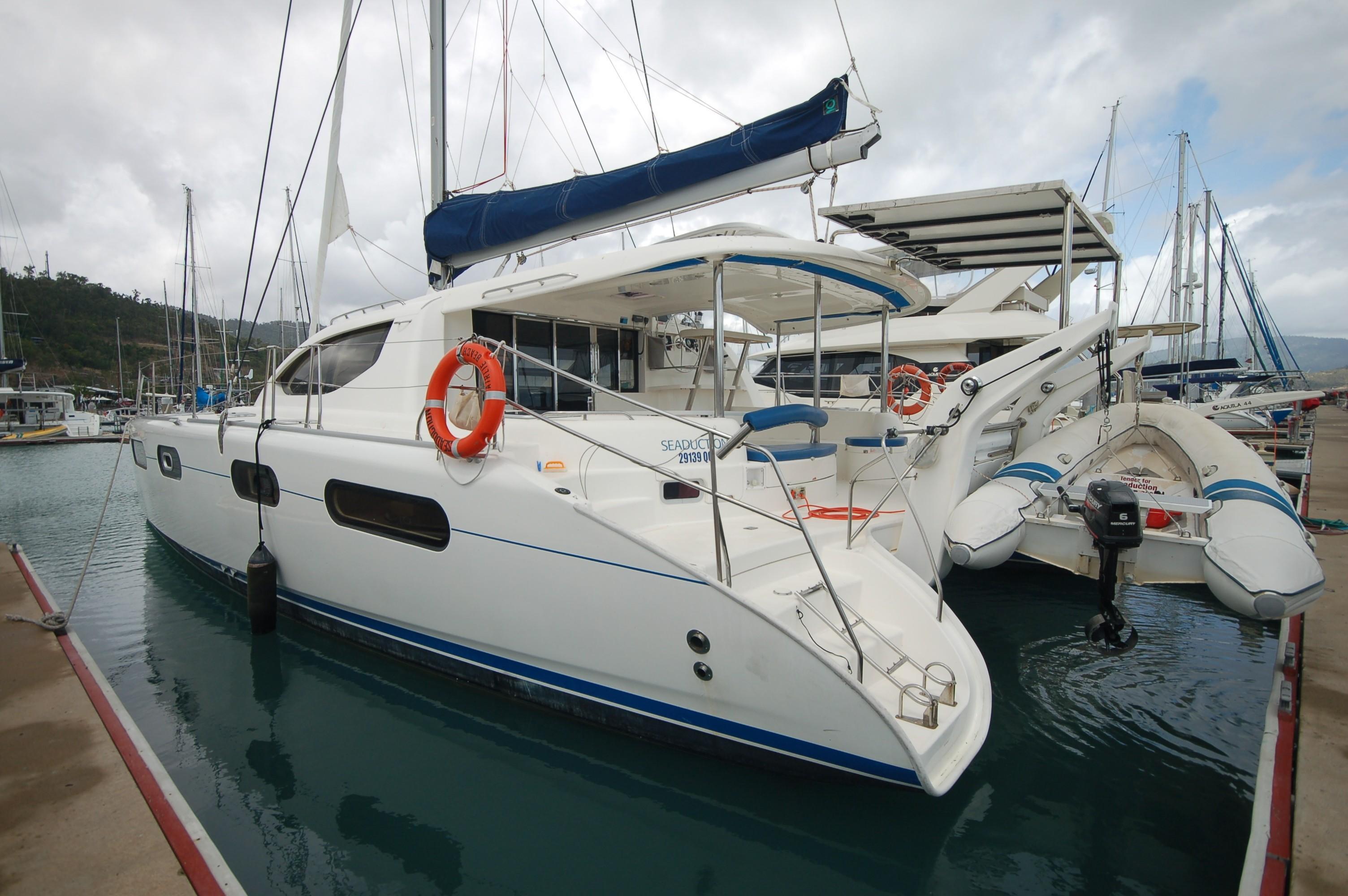 Leopard 46 Sailing Catamaran Seaduction for sale | Leopard ...