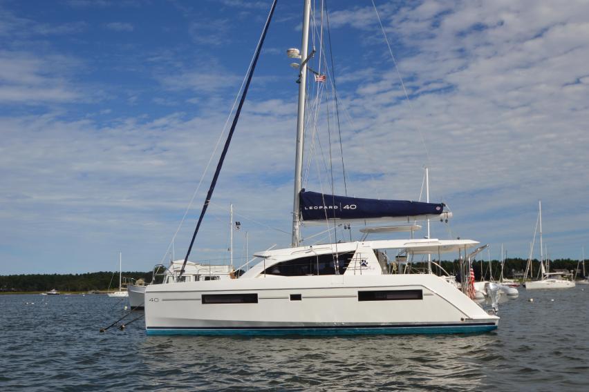 Leopard 40 Sailing Catamaran Big Easy for sale   Leopard Brokerage
