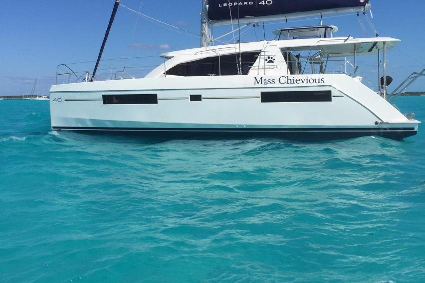 Leopard 40 Owners Version Sailing Catamaran Miss Chievious for sale