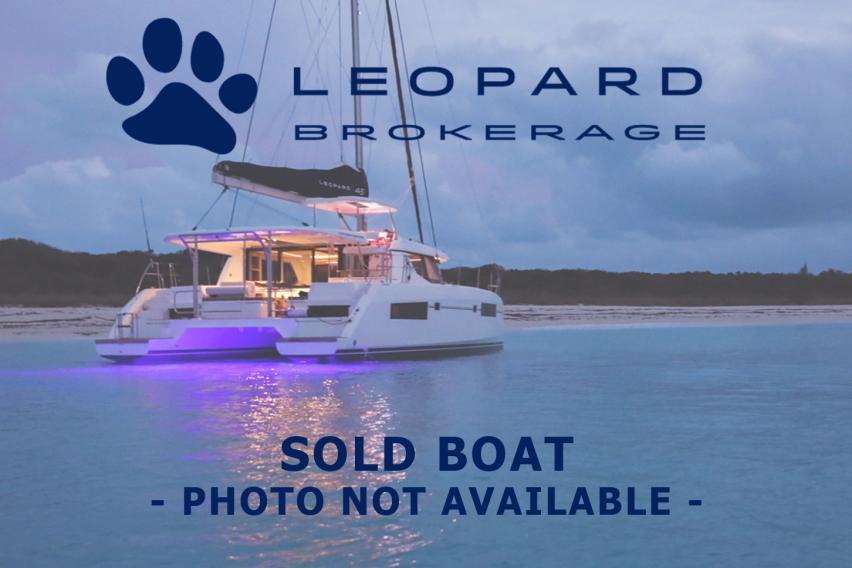 Leopard 45 Sailing Catamaran TIGER for sale | Leopard Brokerage
